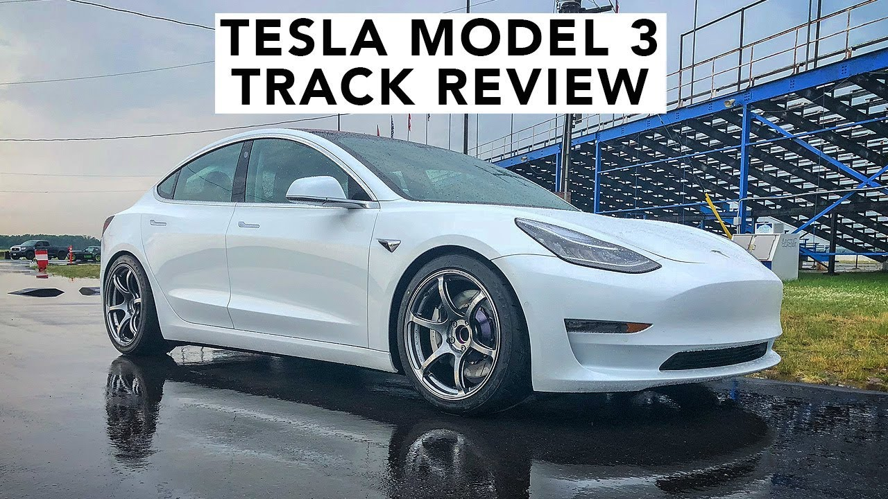 World S First Modified Tesla Model 3 Hits The Track