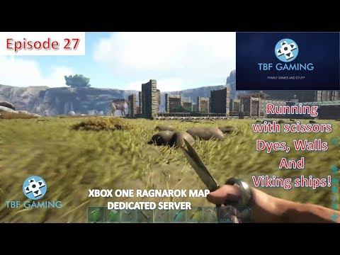 Ragnarok Xbox One E27 Dyes - Haircuts - Base Wall - Sunken Ship Ark Survival Evolved