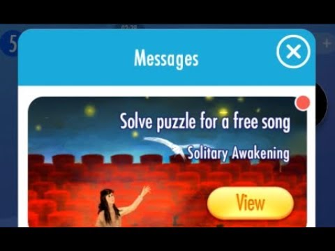 Solitary Awakening Song Piano Tiles 2 Music Game App iOS Mobile Gameplay Notes High Score