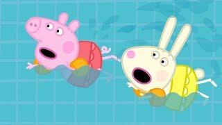 Свинка Пеппа на русском все серии подряд | Урок физкультуры  🏀Мультики
