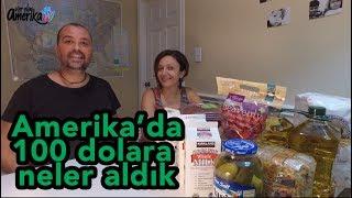 Amerikada market alışverişi - 100 dolara neler aldık - Amerika Vlog #102