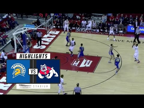 San Jose State vs. Fresno State Basketball Highlights (2018-19) | Stadium