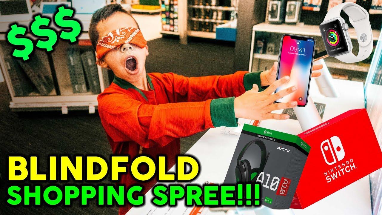 buying-everything-i-touch-blindfolded-no-budget-challenge
