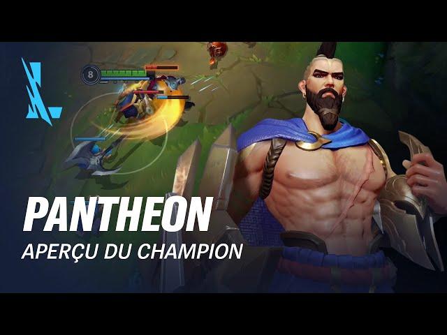 Aperçu de Pantheon | Gameplay - League of Legends: Wild Rift
