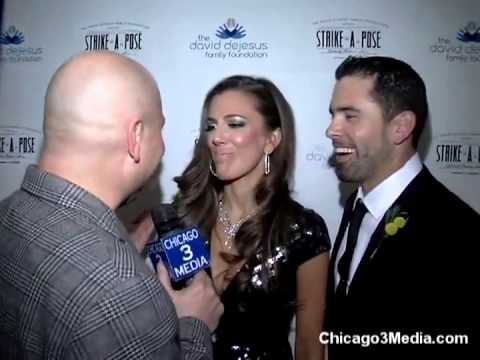 DAVID DeJESUS FAMILY FOUNDATION With Cubs And Wives