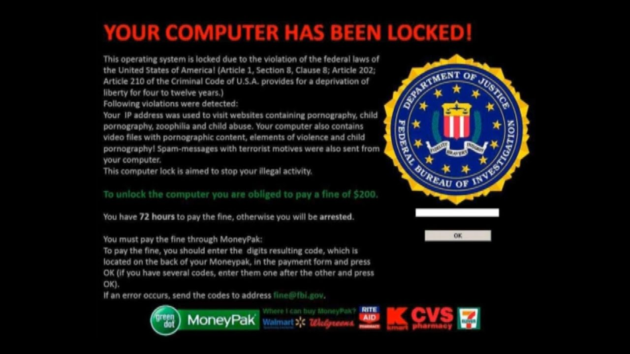 fbi moneypak virus removal out using safe mode best method fbi moneypak virus removal out using safe mode best method