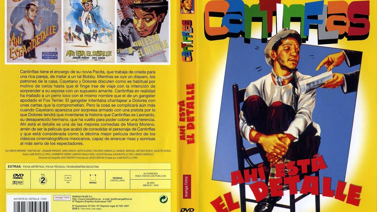Ver Cantinflas – Ahí está el detalle (1940) en Español