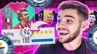 FUT DRAFT 194?!! SÓ TIME ABSURDO!! FIFA 19 Ultimate Team