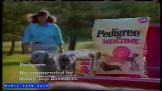Pedigree Dog Food Commercial - 1989