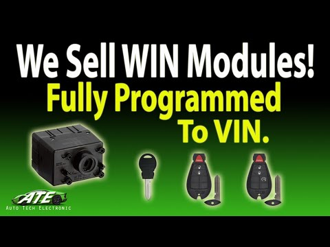 Replacing/Installing WIN Modules (Dodge Ram 2012) Also 2009 2010 2011