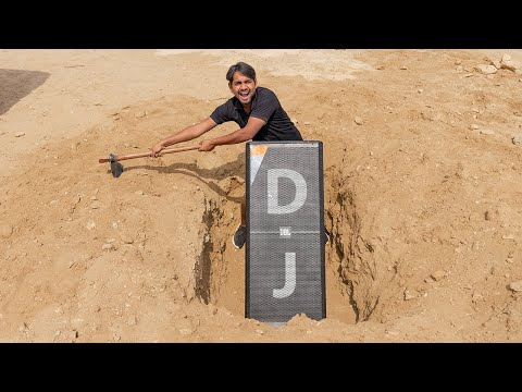 Will DJ Sound Work Underground ? - Experiment