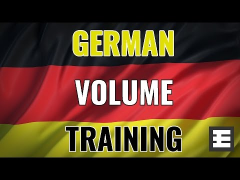 German Volume Training: A New Look At An Old Way To Build Mass & Strength