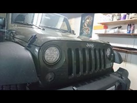 HOW TO INSTALL OR REMOVE HEADLIGHTS ON JEEP WRANGLER JK