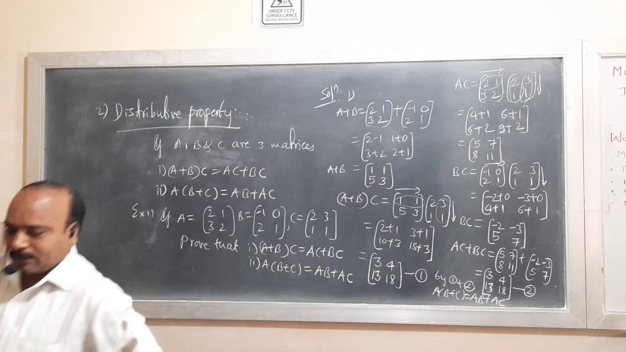 Download MATHEMATICS (Matrices part-8)