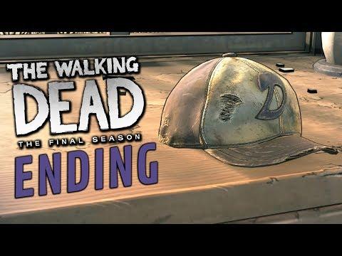 The Walking Dead The Final Season - THE ENDING!!! (ep. 4 2/2)