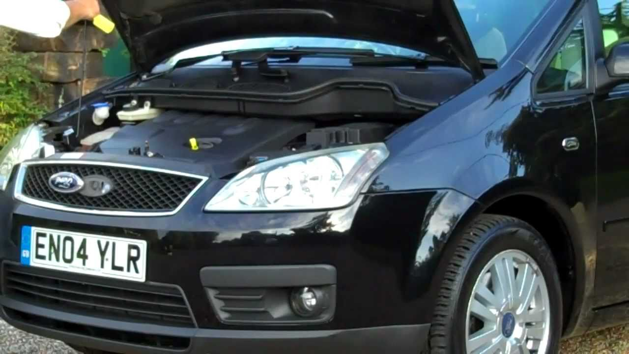 04 04 ford focus c max ghia tdci in black for sale youtube. Black Bedroom Furniture Sets. Home Design Ideas