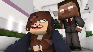 Best love story Minecraft animation Life of Ugly Girl