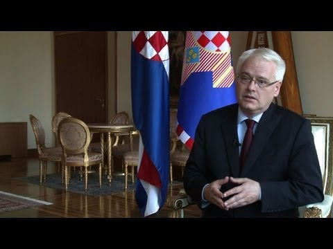Exclusive: Croatian president talks on EU accession