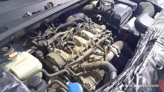 Запуск Hyundai Tucson 2.0 CRDi до и после ремонта форсунок
