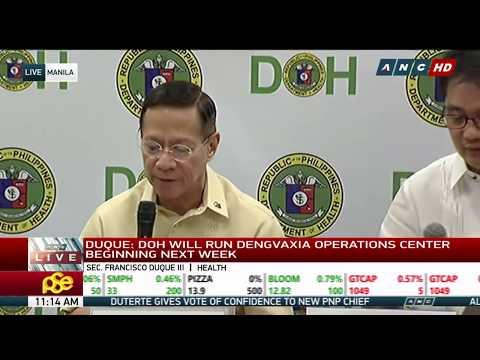 DOH gives press briefing | 20 April 2018