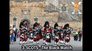 The Black Watch parade the Royal Mile Edinburgh [4K] thumbnail