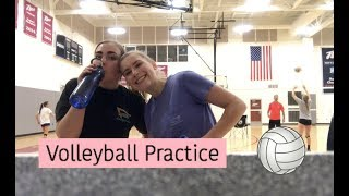 Come To Volleyball Practice With ME   VLOGMAS DAY 14