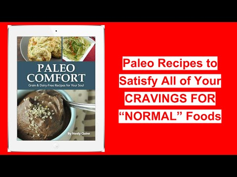 "♥ ✌ Paleo Recipes To Satisfy All Of Your CRAVINGS FOR ""NORMAL"" Foods♥ ✌"