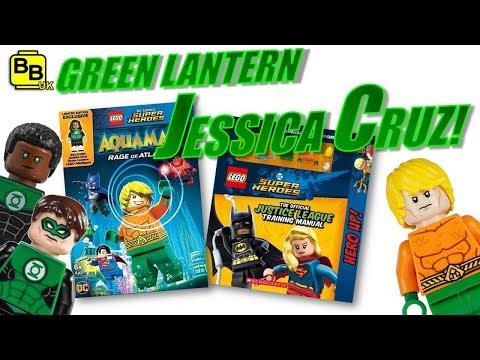 Green Lantern Jessica Cruz custom minifigure DC Comics movie New For LEGO