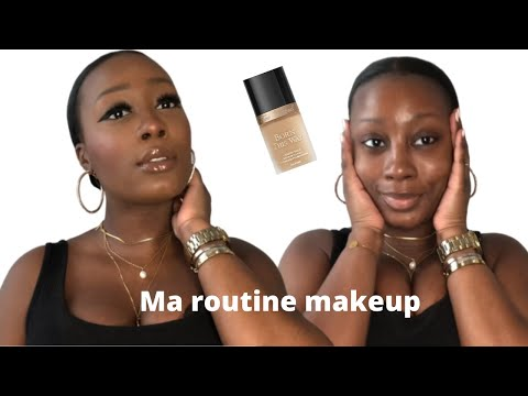 MA ROUTINE MAKEUP | MAQUILLAGE PEAU NOIRE | DyDy xoxo