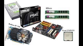 asus P5KC  Xeon E5450Мгц  DDR3 8Gb. Разгон на повседневное использование