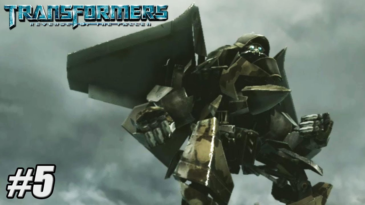 TRANSFORMERS REVENGE OF THE FALLEN Gameplay …