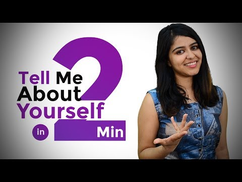 How to answer for Tell Me about Yourself ? - Most Commonly asked Interview Question
