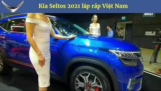 Chi tiết Kia Seltos 2021 giá 600 triệu lắp ráp Việt Nam