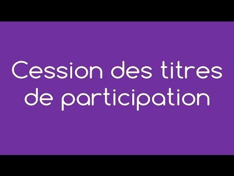 Cession Des Parts D'une Société En 2014 - Par Easy Compta
