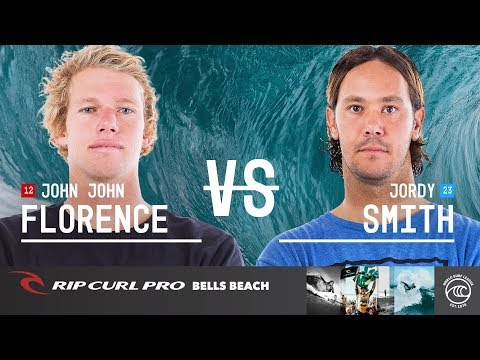 John John Florence vs. Jordy Smith - Semifinals, Heat 2 - Rip Curl Pro Bells Beach 2019