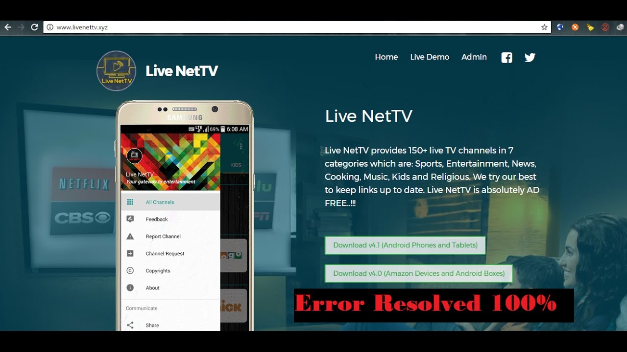 Live NetTV - Can't Open File Issue [RESOLVED]