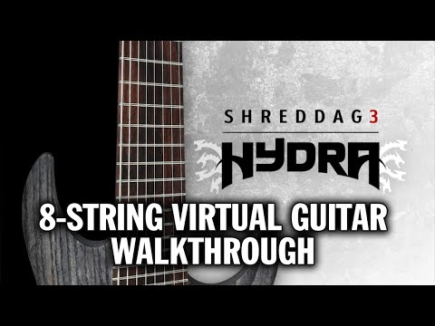 Shreddage 3 HYDRA: Virtual 8-string guitar walkthrough