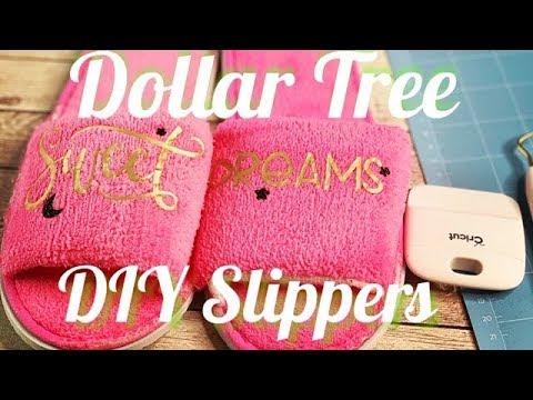 Dollar Tree DIY Slippers
