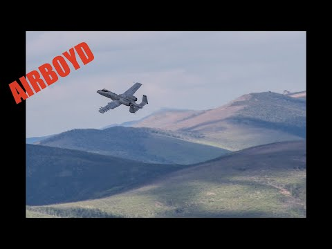 A-10 Strafing Runs Yukon Training Area