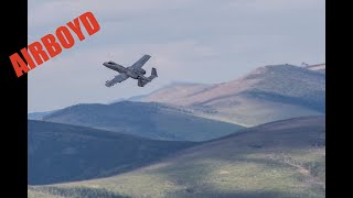 A-10 Strafing Runs Yukon Training Area