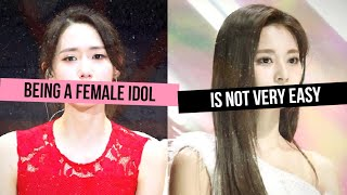 The MISERY of Being a FEMALE Kpop Idol