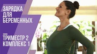 Зарядка для беременных. Второй триместр. Комплекс №1. Маша Ефросинина.(, 2014-11-09T09:39:33.000Z)