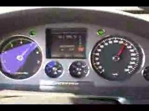 VW Phaeton W12 6.0 Acceleration - YouTube