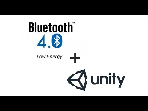 Bluetooth Low Energy Terminal in Unity3D for Windows Standalone devices