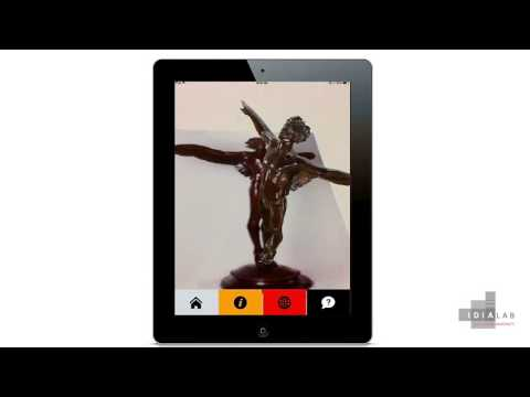 Augmented Reality iOS app to enhance visitor experiences for Art museums.