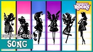 Opening Title Sequence (Rough Animatic) | MLP: Equestria Girls | Rainbow Rocks [HD]