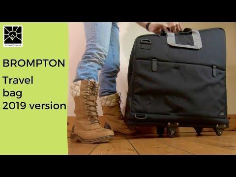 Brompton Travel Bag For Folding Bike - 2019 Version