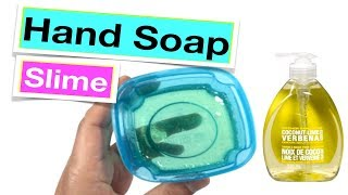 Testing Viral Hand Soap and Sugar Slime- No Glue Clear Slime With H...