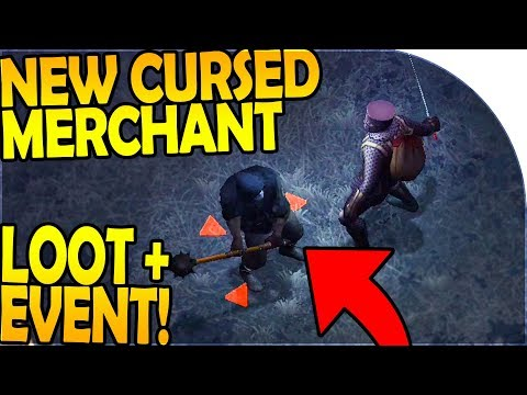 NEW CURSED MERCHANT EVENT + LOOT - Grim Soul Dark Fantasy Survival Update 1.0.7