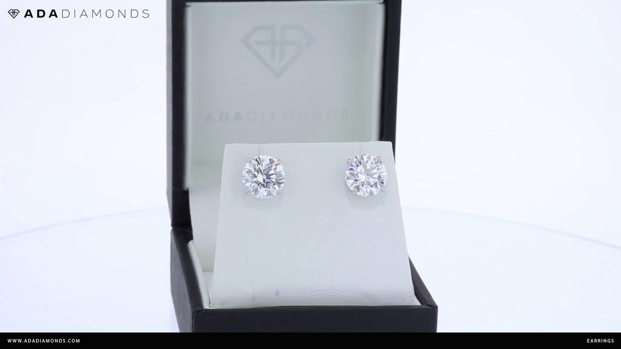 41eb9ea1c Lab Grown Diamond Studs, Hoops, Dangles, Jackets, Earrings